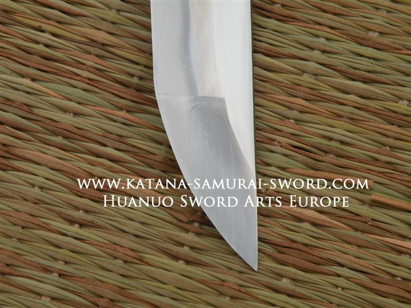 Tamahagane Silver Bamboo Katana, Huanuo,07