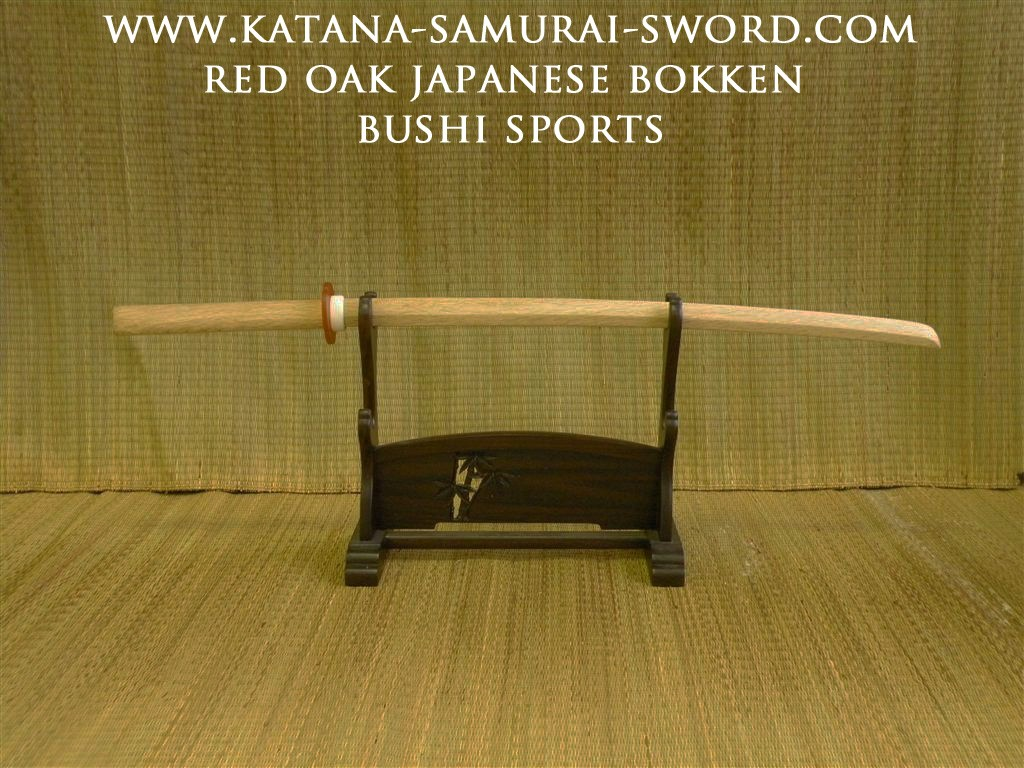 Red Oak High Quality Bokken