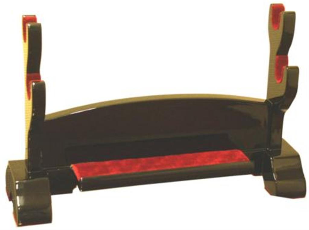 Black Lacquer 2 Katana's Display
