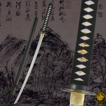 """CAS Hanwei Practical Special Katana SH2376 39/"""" overall 27/"""" forged high carbon a"""